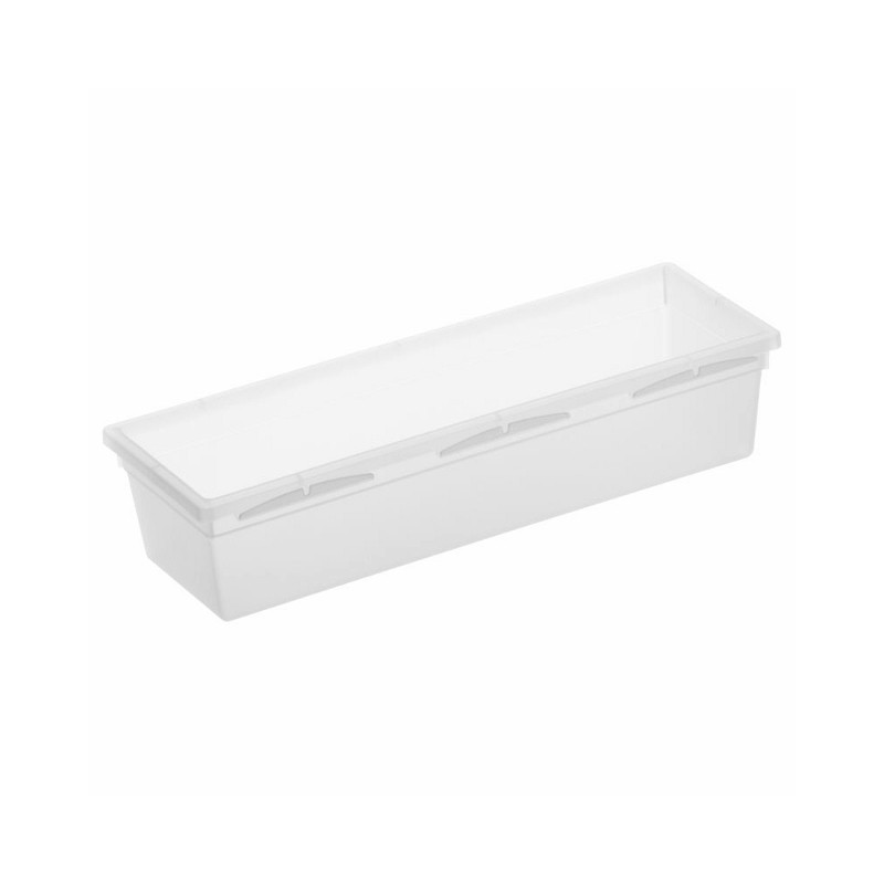 Organizer do szuflady  23 x 8 cm BASIC transparentny